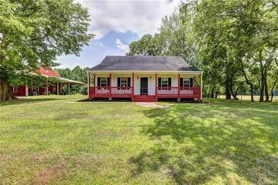 Richmond Single Family Home For Sale: 5226 N Warriner Road