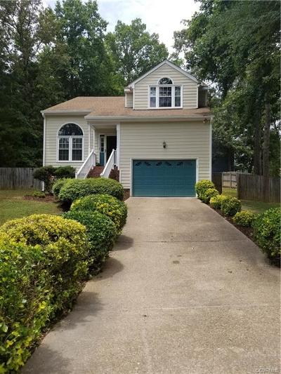 Chesterfield Single Family Home For Sale: 2555 Providence Creek Road