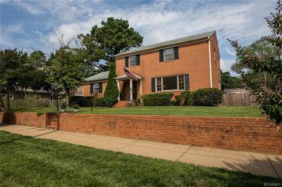 Richmond Single Family Home For Sale: 1404 Antrim Avenue