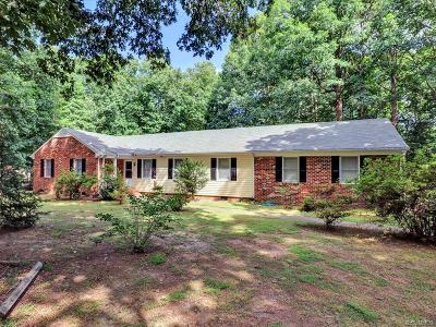 Chesterfield Single Family Home For Sale: 10501 Christina Road