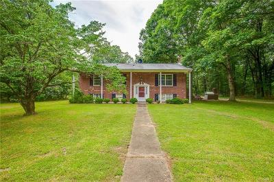 Chester Single Family Home For Sale: 7619 Woodpecker Road