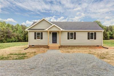 Louisa Single Family Home For Sale: 1444 School Bus Road