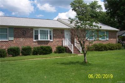 Mechanicsville Single Family Home For Sale: 7948 Kenmore Drive
