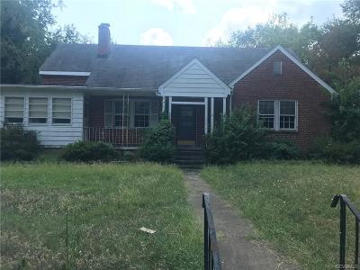 Richmond Single Family Home For Sale: 4005 Patterson Avenue