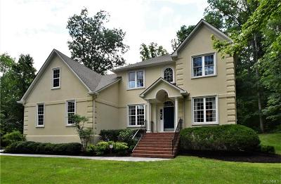Midlothian Single Family Home For Sale: 3507 Robious Forest Way