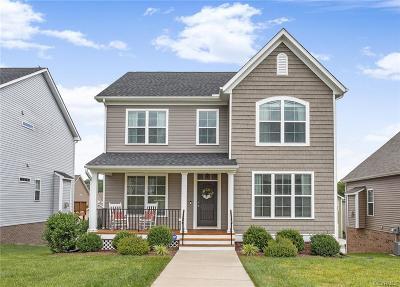 Midlothian Single Family Home For Sale: 14812 Bridge Creek Drive
