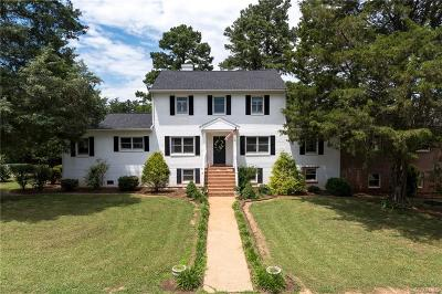 Powhatan Single Family Home For Sale: 3480 Huguenot Trail