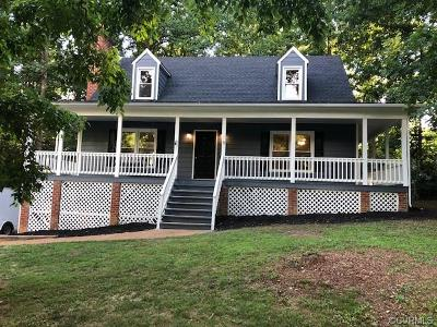 Chester Single Family Home For Sale: 6908 Deer Thicket Drive