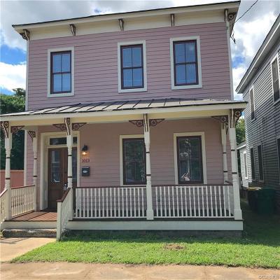 Petersburg Single Family Home For Sale: 1013 W High Street