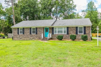 Mechanicsville Single Family Home For Sale: 9283 Coleman Road
