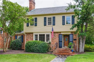 Richmond Single Family Home For Sale: 4608 W Grace Street