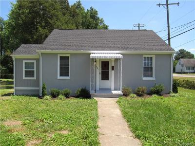 Richmond Single Family Home For Sale: 3901 Arden Road