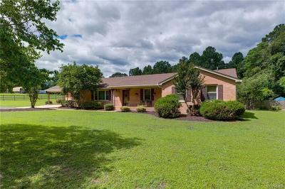 Mechanicsville Single Family Home For Sale: 7335 Hidden Lake Estate Drive