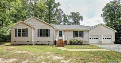 Bumpass Single Family Home For Sale: 108 Elnor Road