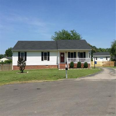 Mechanicsville Single Family Home For Sale: 7027 Chance Trace