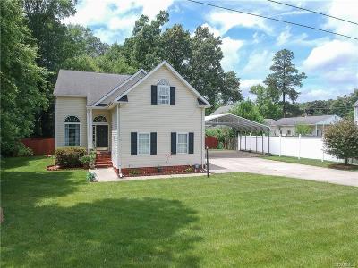 Henrico County Single Family Home For Sale: 10026 Crystal Lake Avenue