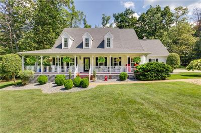 Powhatan Single Family Home For Sale: 1806 High Hill Drive
