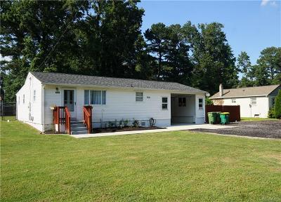 Hopewell Single Family Home For Sale: 3707 Woodside Court