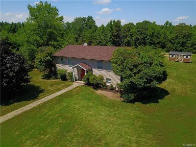 Farmville Single Family Home For Sale: 35 Blanton Farm Road