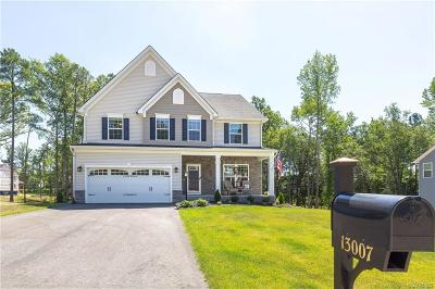 Midlothian Single Family Home For Sale: 13007 Beech Hill Drive