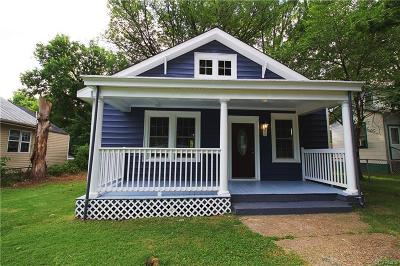 Richmond Single Family Home For Sale: 1702 19th Street