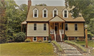 Mechanicsville Single Family Home For Sale: 3434 Parsleys Mill Road