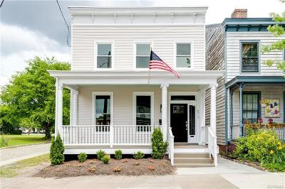 Richmond Single Family Home For Sale: 873 N 22nd Street