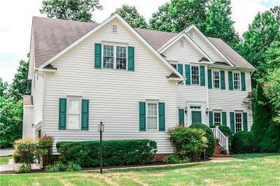 Glen Allen Single Family Home For Sale: 10700 Keesee Meadow Lane