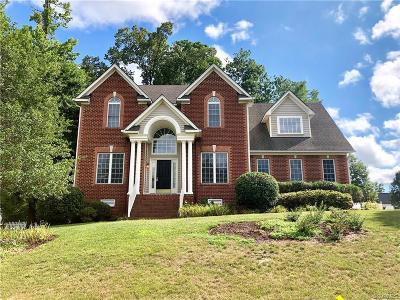Chesterfield Single Family Home For Sale: 8101 Hampton Valley Drive