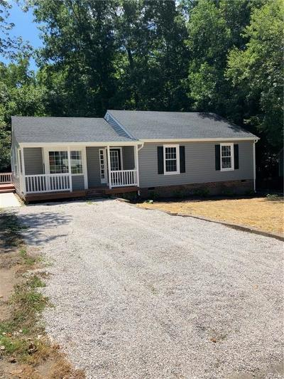 Henrico Single Family Home For Sale: 9802 St Pages Lane