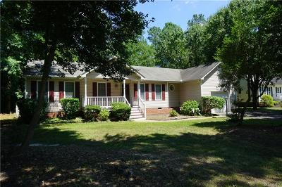 Chesterfield Single Family Home For Sale: 9619 Pampas Drive