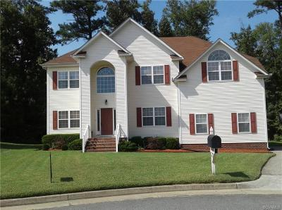 Chester Single Family Home For Sale: 13306 Naylors Blue Court