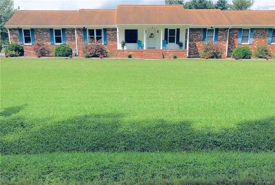 Mechanicsville Single Family Home For Sale: 3493 Spring Run Road