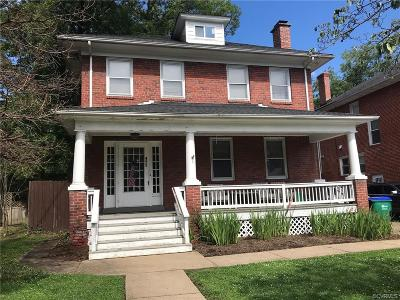 Richmond Single Family Home For Sale: 4213 Brook Road
