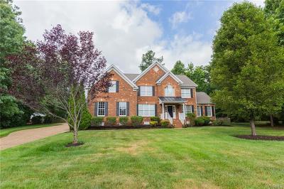 Glen Allen Single Family Home For Sale: 3813 Heverley Drive