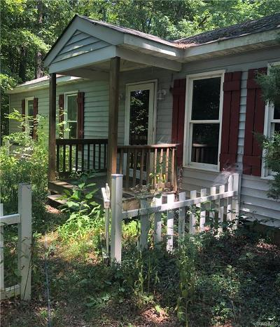 Powhatan Single Family Home For Sale: 2840 Maidens Road