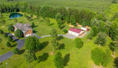 Hanover County Single Family Home For Sale: 21230 Green Bay Road