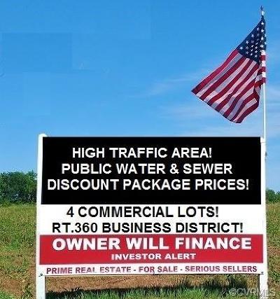 Amelia County Land For Sale: Parcels 3 & 4 Goodes Bridge Road