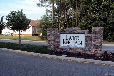 Dinwiddie Land For Sale: 22070 Lake Jordan Road