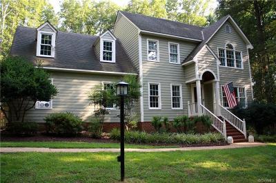 Powhatan County Single Family Home For Sale: 3469 Richards Run