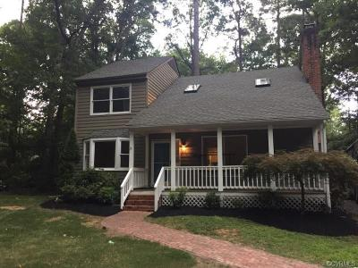 Chesterfield Single Family Home For Sale: 2904 Fox Chase Drive