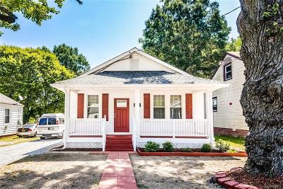Richmond Single Family Home For Sale: 1406 Lynhaven Avenue