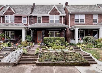 Richmond Single Family Home For Sale: 2213 Maplewood Avenue