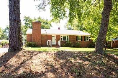 Richmond Single Family Home For Sale: 907 Rutherford Road