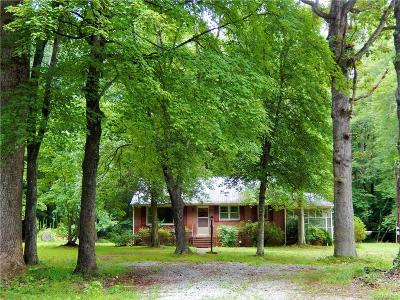 Powhatan County, Amelia County Single Family Home For Sale: 5580 Anderson Highway