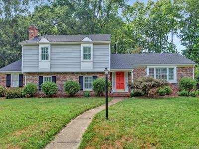 Richmond Single Family Home For Sale: 600 Branway Drive