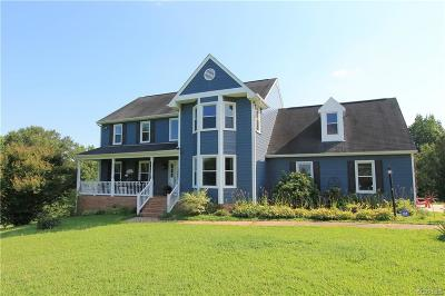 Amelia County Single Family Home For Sale: 6780 Military Road