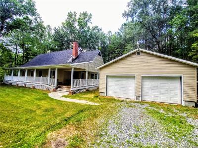 Single Family Home For Sale: 16600 James River Drive