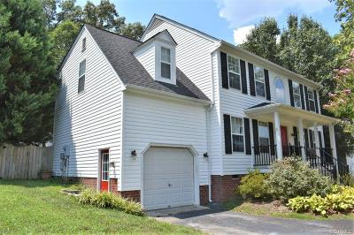 Henrico Single Family Home For Sale: 2608 Trickling Brook Court
