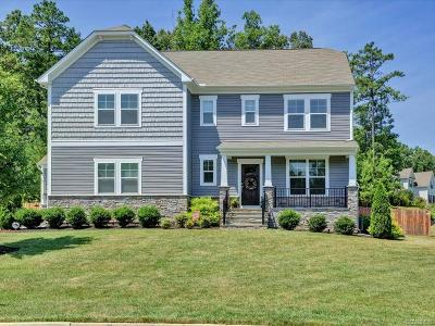 Midlothian Single Family Home For Sale: 4100 Water Overlook Boulevard